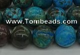 CAG9603 15.5 inches 12mm round ocean agate gemstone beads wholesale
