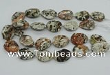 CAG9695 15.5 inches 22*30mm - 25*35mm freeform ocean agate beads