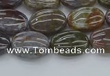 CAG9740 15.5 inches 10*14mm oval Indian agate beads wholesale