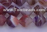 CAG9794 15.5 inches 12mm faceted nuggets botswana agate beads