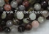 CAG984 15.5 inches 10mm faceted round botswana agate beads wholesale