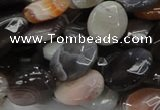 CAG986 15.5 inches 15*20mm faceted oval botswana agate beads