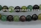 CAJ201 15.5 inches 8mm round Indian aventurine jade beads wholesale