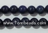 CAJ503 15.5 inches 10mm round blue aventurine beads wholesale