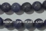CAJ504 15.5 inches 12mm round blue aventurine beads wholesale