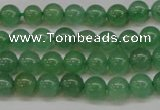 CAJ601 15.5 inches 6mm round A grade green aventurine beads