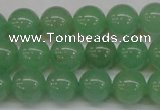 CAJ613 15.5 inches 10mm round AA grade green aventurine beads