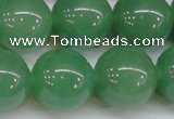 CAJ618 15.5 inches 20mm round AA grade green aventurine beads