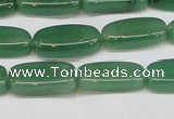 CAJ674 15.5 inches 6*9*20mm freeform green aventurine beads