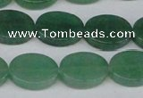 CAJ680 15.5 inches 13*18mm oval green aventurine beads