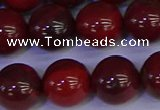 CAJ755 15.5 inches 14mm round apple jasper beads wholesale