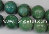 CAM1006 15.5 inches 16mm round natural Russian amazonite beads