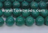 CAM1302 15.5 inches 8mm round natural Russian amazonite beads