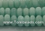 CAM1532 15.5 inches 5*8mm rondelle natural peru amazonite beads