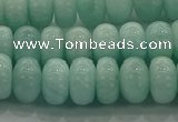 CAM1533 15.5 inches 6*10mm rondelle natural peru amazonite beads