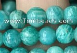 CAM1701 15.5 inches 5.5mm round Russian amazonite beads