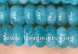 CAM1713 15.5 inches 4*6mm rondelle natural amazonite beads
