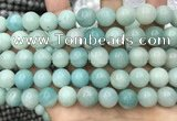 CAM1734 15.5 inches 12mm round amazonite gemstone beads