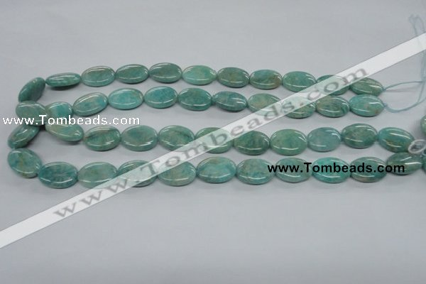 CAM501 15.5 inches 13*18mm oval mexican amazonite gemstone beads