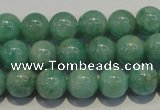 CAM804 15.5 inches 10mm round Brazilian amazonite beads wholesale