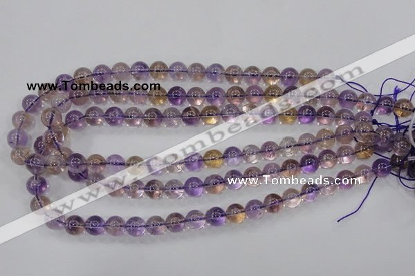 CAN01 15.5 inches 6mm round natural ametrine gemstone beads