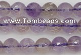 CAN152 15.5 inches 8mm faceted round natural ametrine beads
