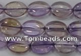 CAN49 15.5 inches 12*16mm oval natural ametrine gemstone beads