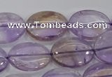 CAN51 15.5 inches 16*22mm oval natural ametrine gemstone beads
