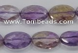 CAN57 15.5 inches 15*20mm faceted oval natural ametrine beads