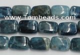 CAP213 15.5 inches 10*14mm rectangle natural apatite gemstone beads