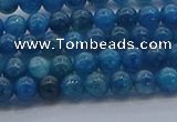 CAP360 15.5 inches 4mm round apatite gemstone beads wholesale