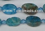 CAP550 15.5 inches 8*12mm oval apatite gemstone beads