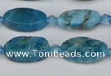 CAP551 15.5 inches 8*16mm oval apatite gemstone beads