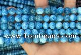 CAP607 15.5 inches 8mm round natural apatite gemstone beads