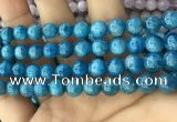 CAP612 15.5 inches 8mm round natural apatite gemstone beads