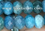 CAP618 15.5 inches 5*7mm - 5*8mmm faceted rondelle apatite beads