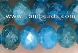 CAP619 15.5 inches 5*7mm - 5*8mm faceted rondelle apatite beads