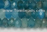 CAP624 15.5 inches 2.5*4mm faceted rondelle apatite beads