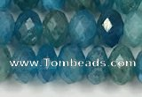 CAP625 15.5 inches 4*6mm faceted rondelle apatite beads
