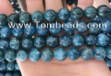 CAP646 15.5 inches 12mm round natural apatite gemstone beads