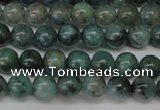 CAQ600 15.5 inches 4mm round aquamarine gemstone beads