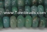 CAQ611 15.5 inches 5*8mm rondelle aquamarine gemstone beads