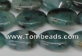 CAQ629 15.5 inches 12*16mm oval aquamarine gemstone beads
