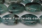 CAQ631 15.5 inches 15*20mm oval aquamarine gemstone beads