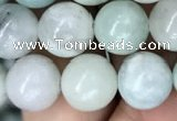CAQ843 15.5 inches 10mm round aquamarine beads wholesale