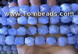 CAQ862 15.5 inches 10*12mm - 12*14mm faceted nuggets aquamarine beads
