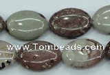 CAR42 15.5 inches 15*20mm oval artistic jasper beads wholesale