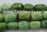 CAU207 15.5 inches 10*14mm nuggets Australia chrysoprase beads
