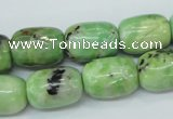CAU208 15.5 inches 12*16mm drum Australia chrysoprase beads