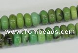 CAU27 15.5 inches 5*10mm rondelle australia chrysoprase beads wholesale